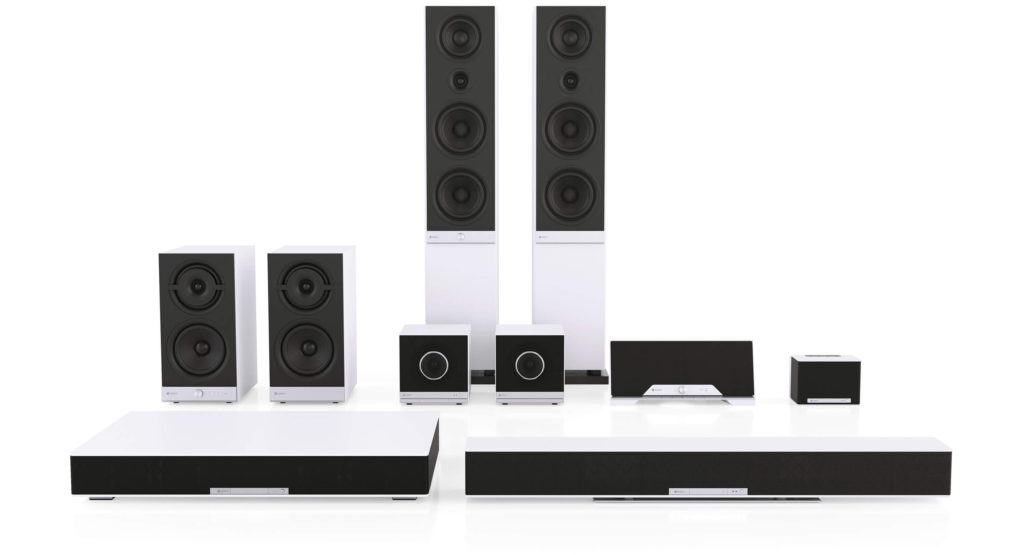 Raumfeld collectie wifi speakers