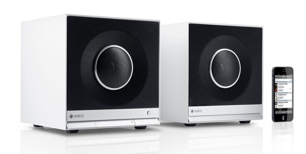 Wifi speakers Stereo Cubes met Chromecast built-in
